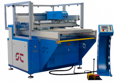 automatic screen printing line