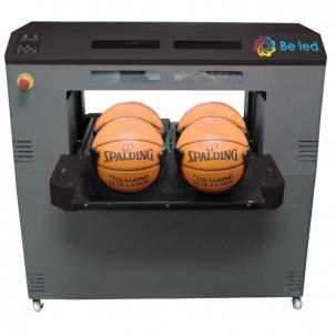 Beled print on basket balls