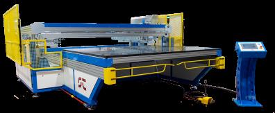 screen printing machine glass
